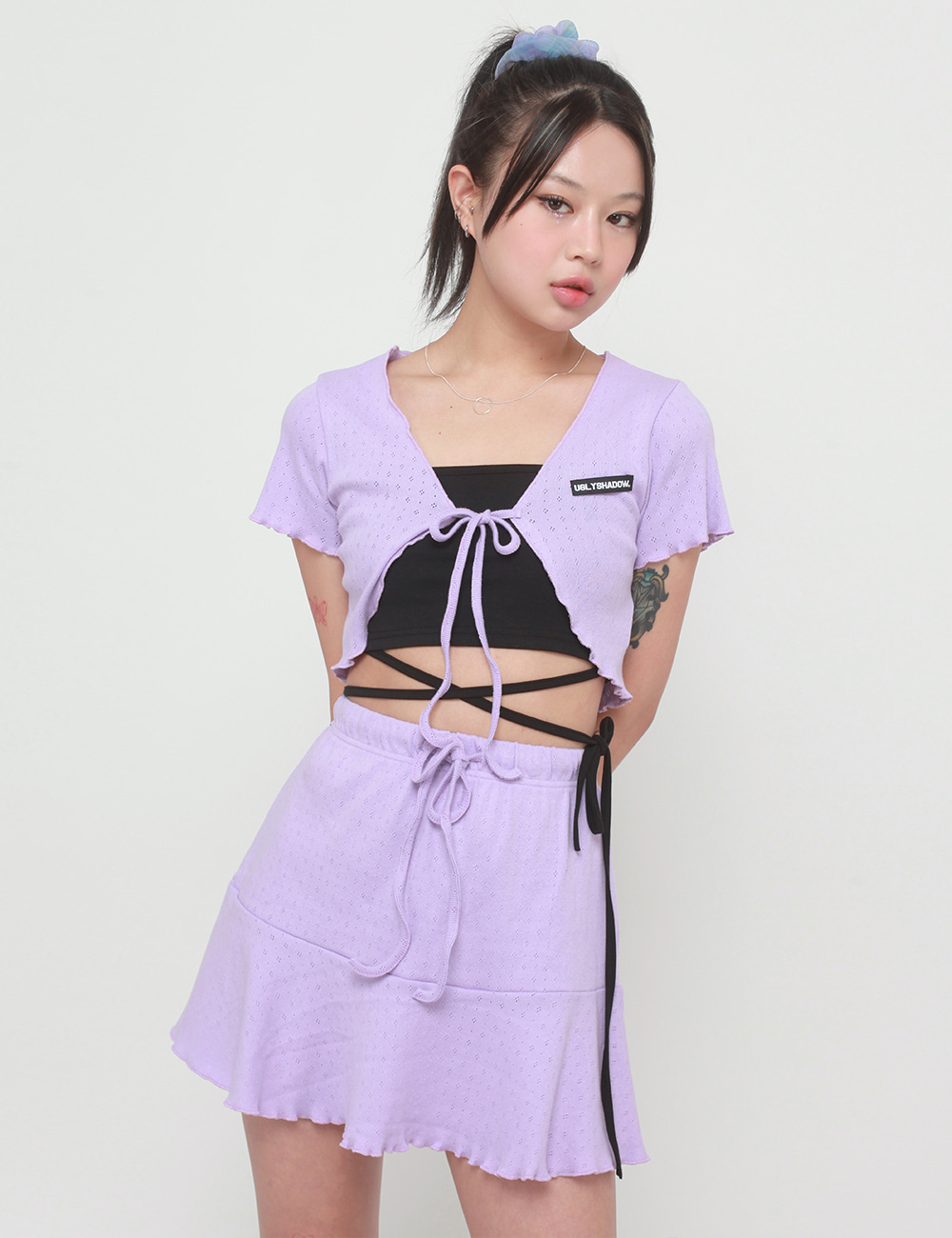 BOLERO SKIRT(PURPLE)