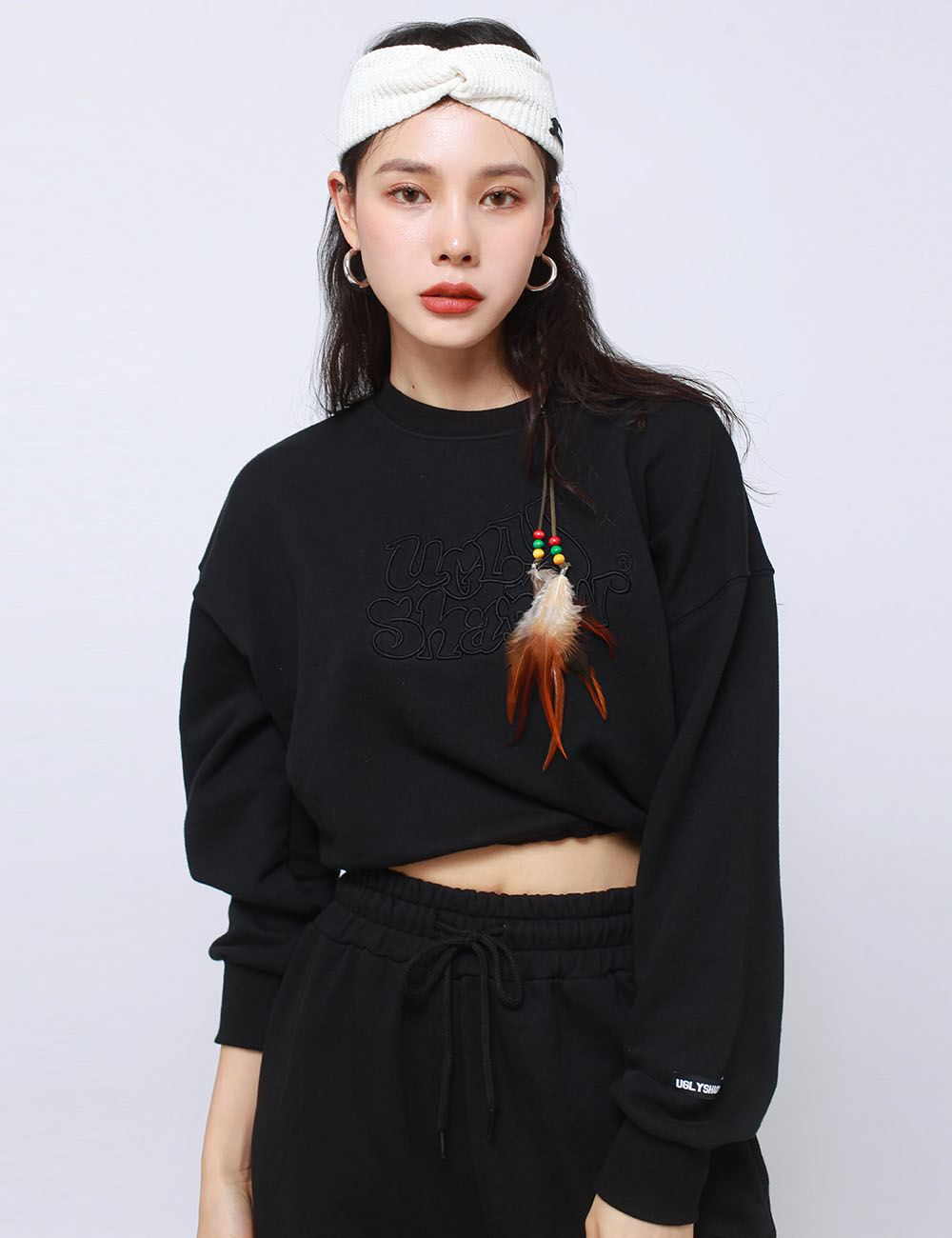 MINI WESTERN CROP MTM(BLACK)