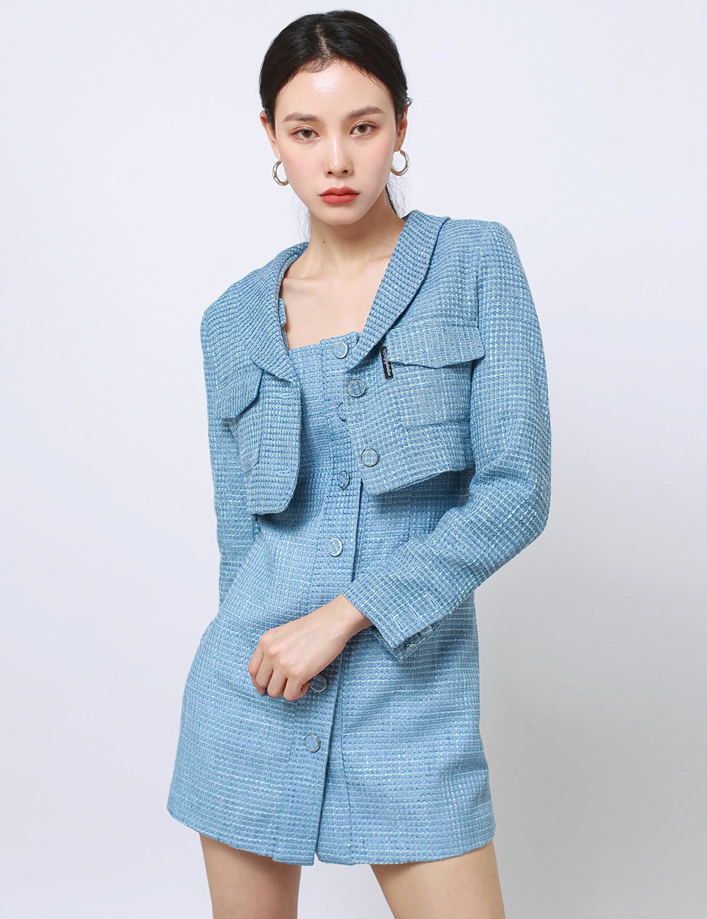 TWEED OPS(BLUE)