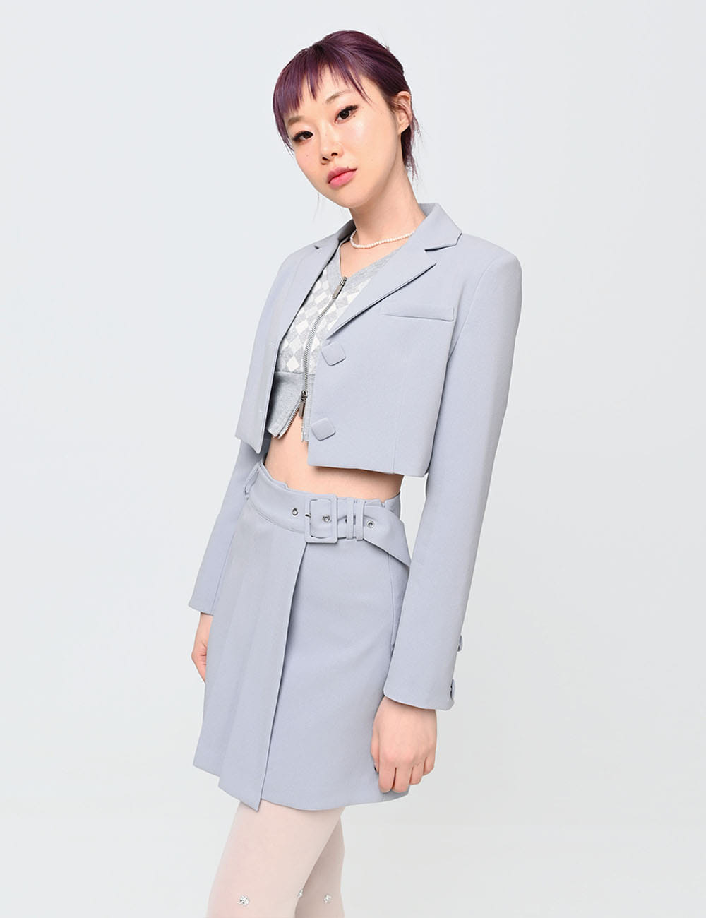 SQUARE JACKET(BLUE)